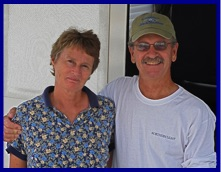 Yacht Delivery Captain Jerry Taylor and Wendy